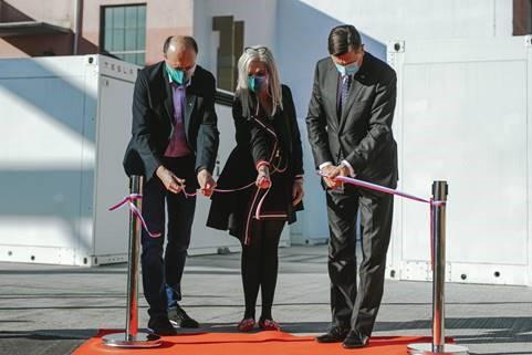 Podjetje NGEN , energetske rešitve d.o.o. je zagnalo največji baterijski hranilnik v Sloveniji in širši regiji
