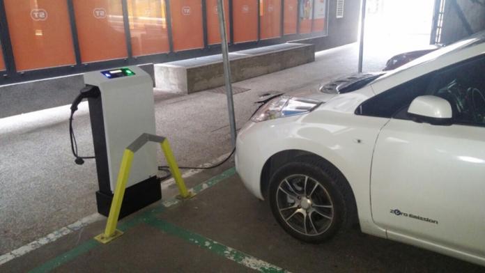 Umeščanje polnilnih postaj za električna vozila v objekt ali prostor