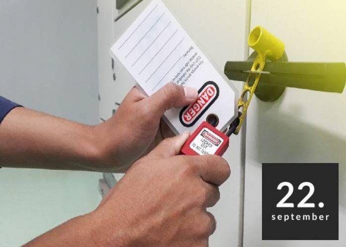 VARNO VZDRŽEVANJE v proizvodni in infrastrukturni dejavnosti - LOTO (Lock out / Tag out = Zakleni / Označi)